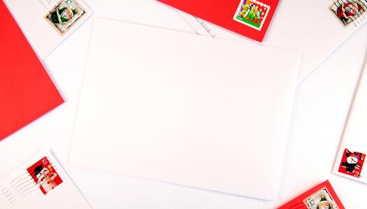 Briefpapier und Briefumschläge