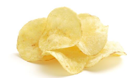 Eine Handvoll Chips